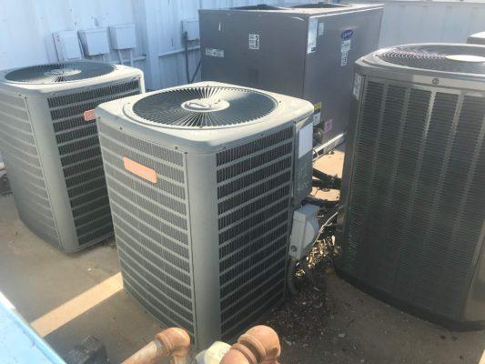 New 5.0 ton Daikin condenser and coil – Addison, TX photo