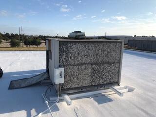 New 10 Ton TRANE Unit Installation – Dallas, TX photo